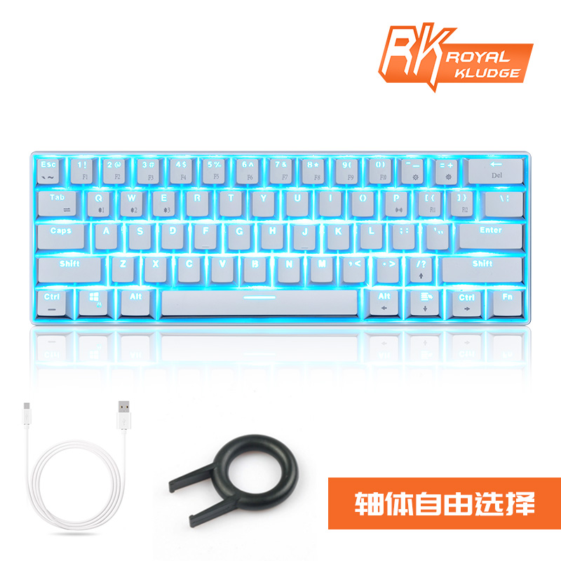 USD 81.35] Cherry axis wireless Bluetooth mechanical keyboard wired ...