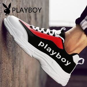 花花公子男鞋秋季运动鞋男士韩版老爹鞋休闲旅游跑步鞋子冬季潮鞋