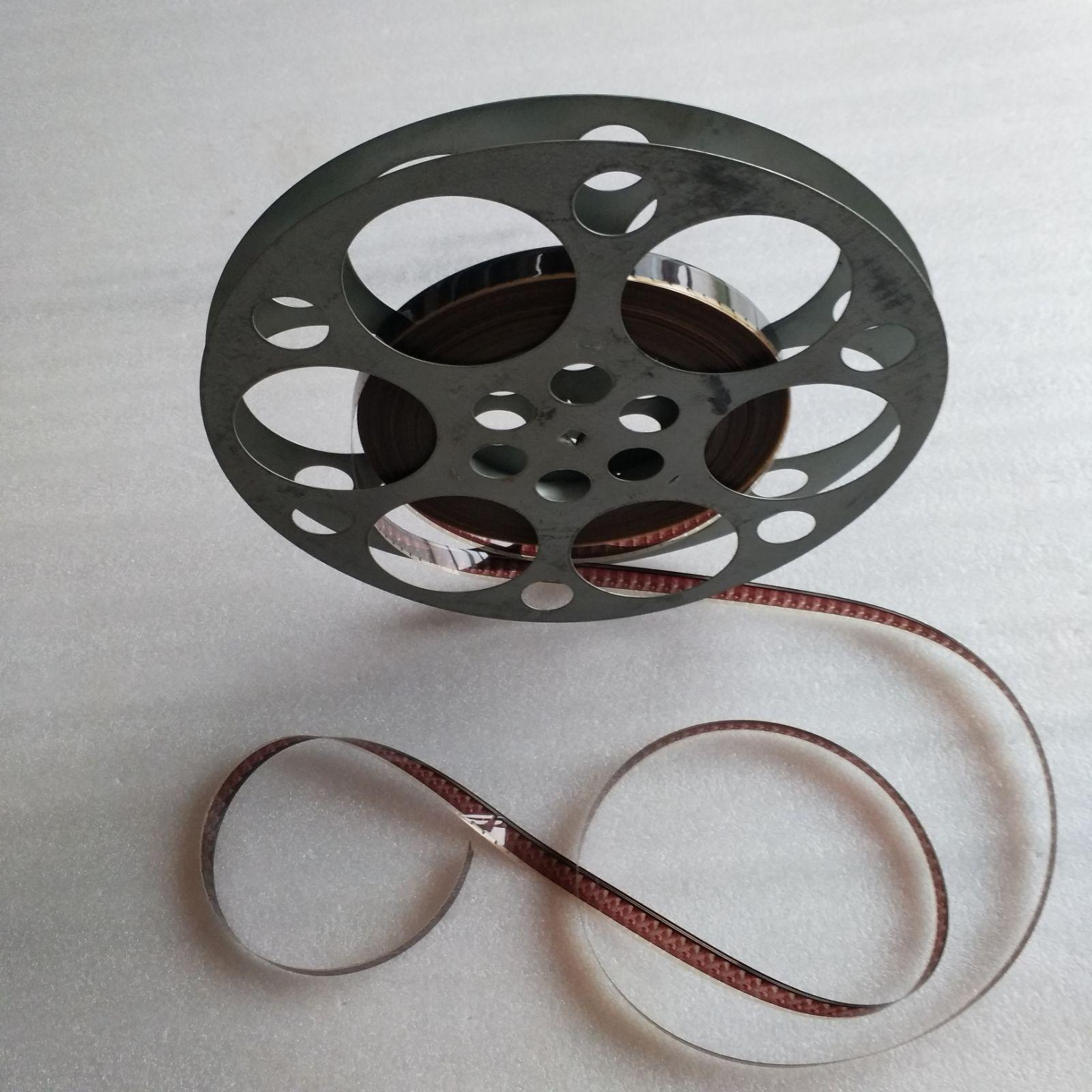 16mm film negatives Film copy Film projector film armor clip plate Film and television props decorative nostalgia