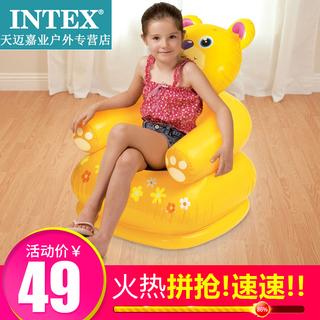 Диваны надувные,  INTEX счастливый животное моделирование диван ребенок животное газированный диван сиденье стул ребенок день рождения подарок, цена 715 руб