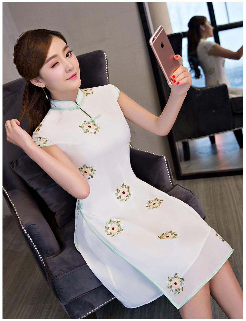 新中式高端旗袍--奥戴旗袍 - 花雕美图苑 - 花雕美图苑