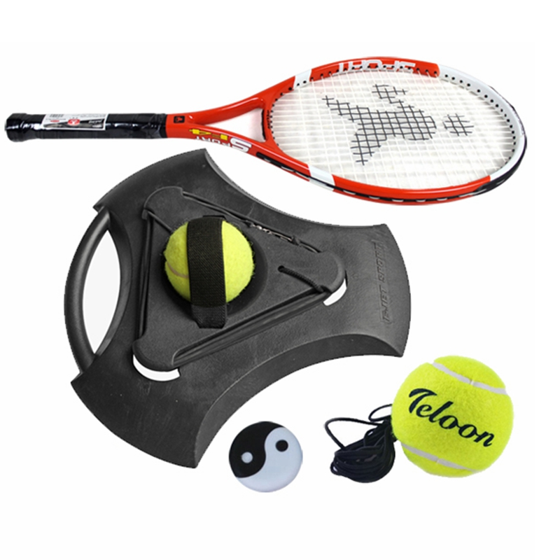 Теннис тренер установите практика база один теннис бить поддерживающий один теннис практика