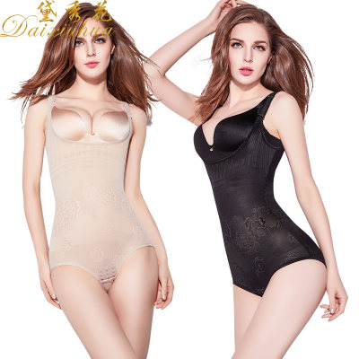 Body shaping female plastic underwear attachment abdomen waist fat burning slimming body post-body after summer ultra-thin flying hip