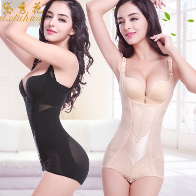 Body shaping female fat burning plastic underwear attached abdomen, waist, slimming, summer, summer, ultra-thin, hip