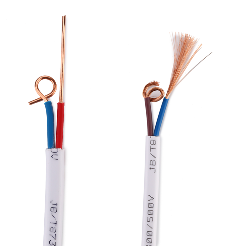 Pure copper RVVB sheathed wire and cable 2 core 0.5/0.75/1/1.5/2.5/4/6