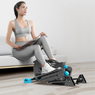 Mini elliptical machine home fitness small elliptical gym room interior stepping machine mountaineering space walk machine