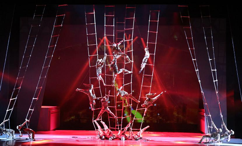 2021庆祝中国共产党100周年优秀舞台艺术作品展演杂技剧《战上海》-唐山站