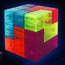 爱因思维最强大脑鲁班积木立体磁力积木磁性索玛方块儿童益智玩具