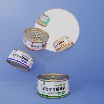 御邦金枪鱼虾仁红肉猫罐头85g*3罐
