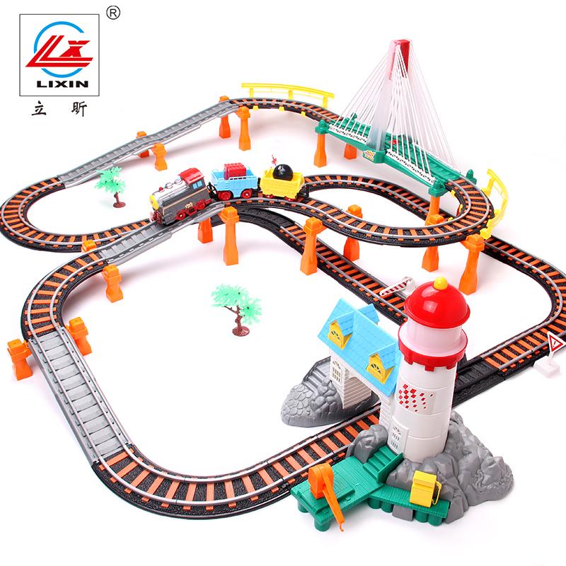 Железная дорога на электро-, радиоуправлении LIXIN lx24188