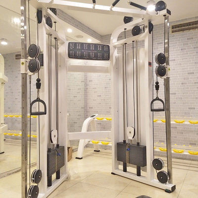 Commercial gantry small bird multifunctional training device gym Smith machine comprehensive strength fitness equipment