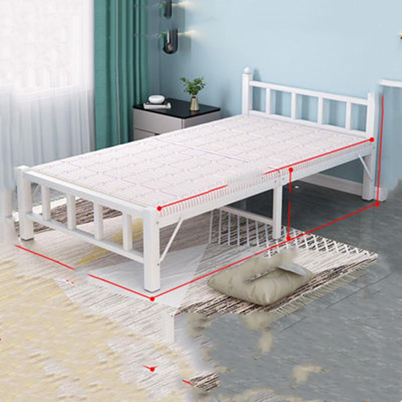 折叠床单人家用午休办公室午睡简易床双人出租房便携硬板床陪护床