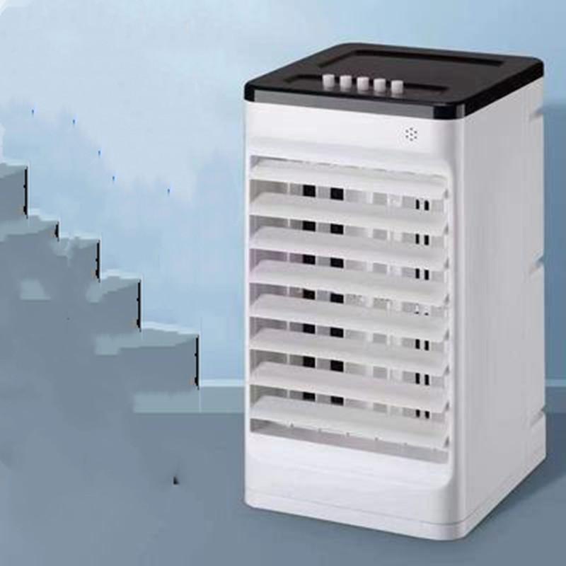 空调扇双水箱制冷风扇加湿单冷风机家用宿舍移动水冷气扇