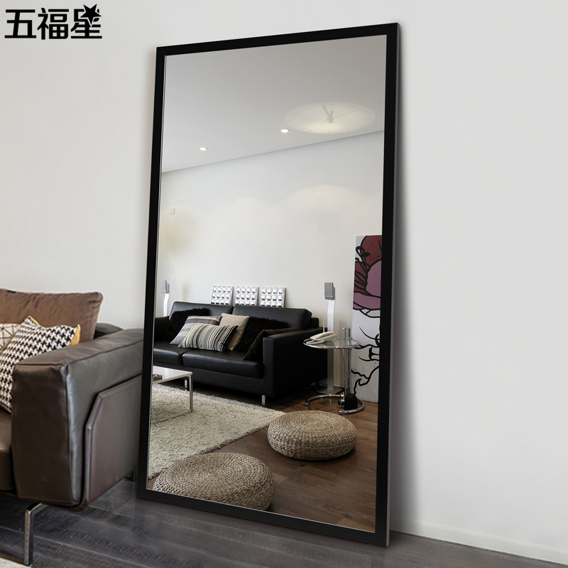 Usd 65 04 Wufuxing Stereo Mirror Full Length Mirror Home Wall Mounted Dressing Mirror Bedroom Floor To Ceiling Mirror Clothing Store Test Mirror Explosion Proof Wholesale From China Online Shopping Buy Asian Products Online From The