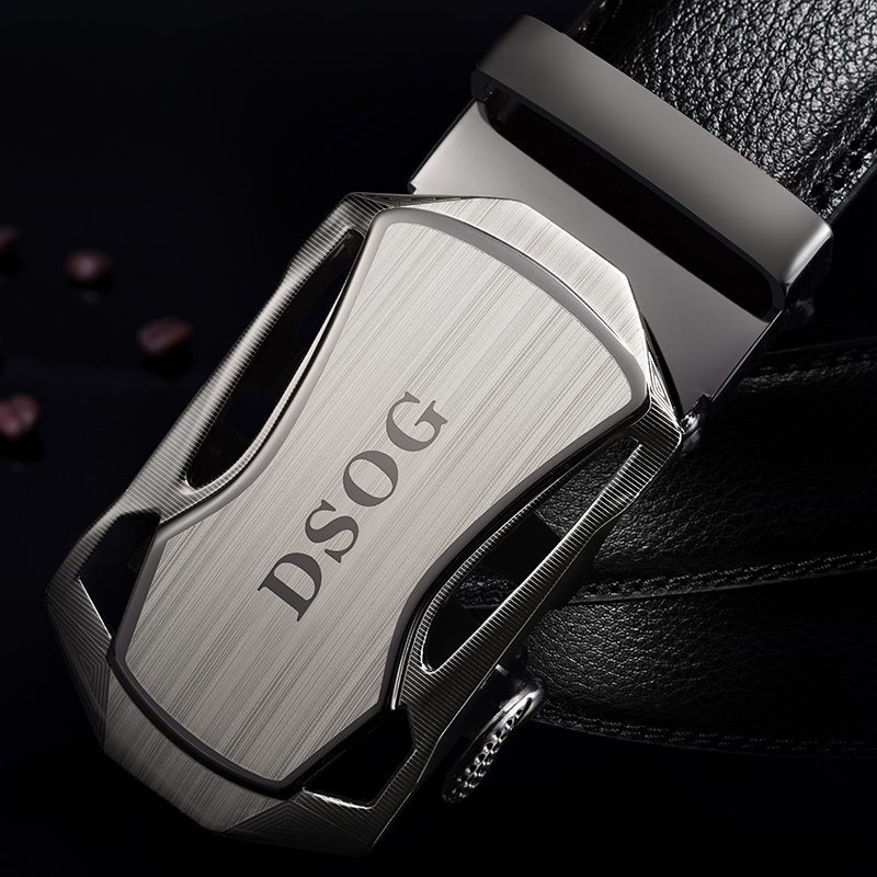 The whole design is 5.8 yuan! Male leather automatic buckle belt man