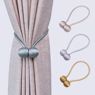 Подхваты для штор,  Творческий занавес бандаж для установки простой современный занавес веревка бандаж милый дикий магнит занавес пряжка нордический, цена 135 руб