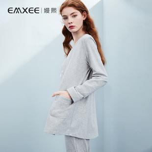 嫚熙月子服夏季纯棉孕妇睡衣