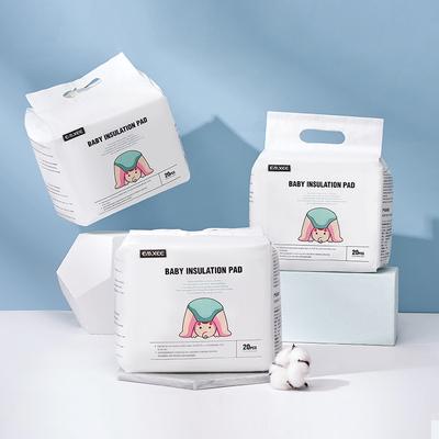 嫚熙婴儿隔尿垫一次性防水透气护理垫新生儿宝宝纸尿片巾床垫20片