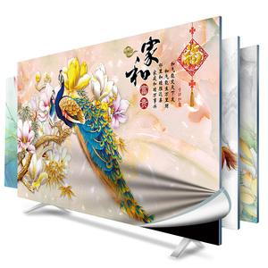 掛式電視機罩套防塵罩布32寸40寸50寸55寸60寸65寸蓋曲面液晶英寸