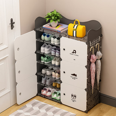 Shoe rack home simple economy shoes dust-proof multi-storey space dormitory placement door shoe storage artifact