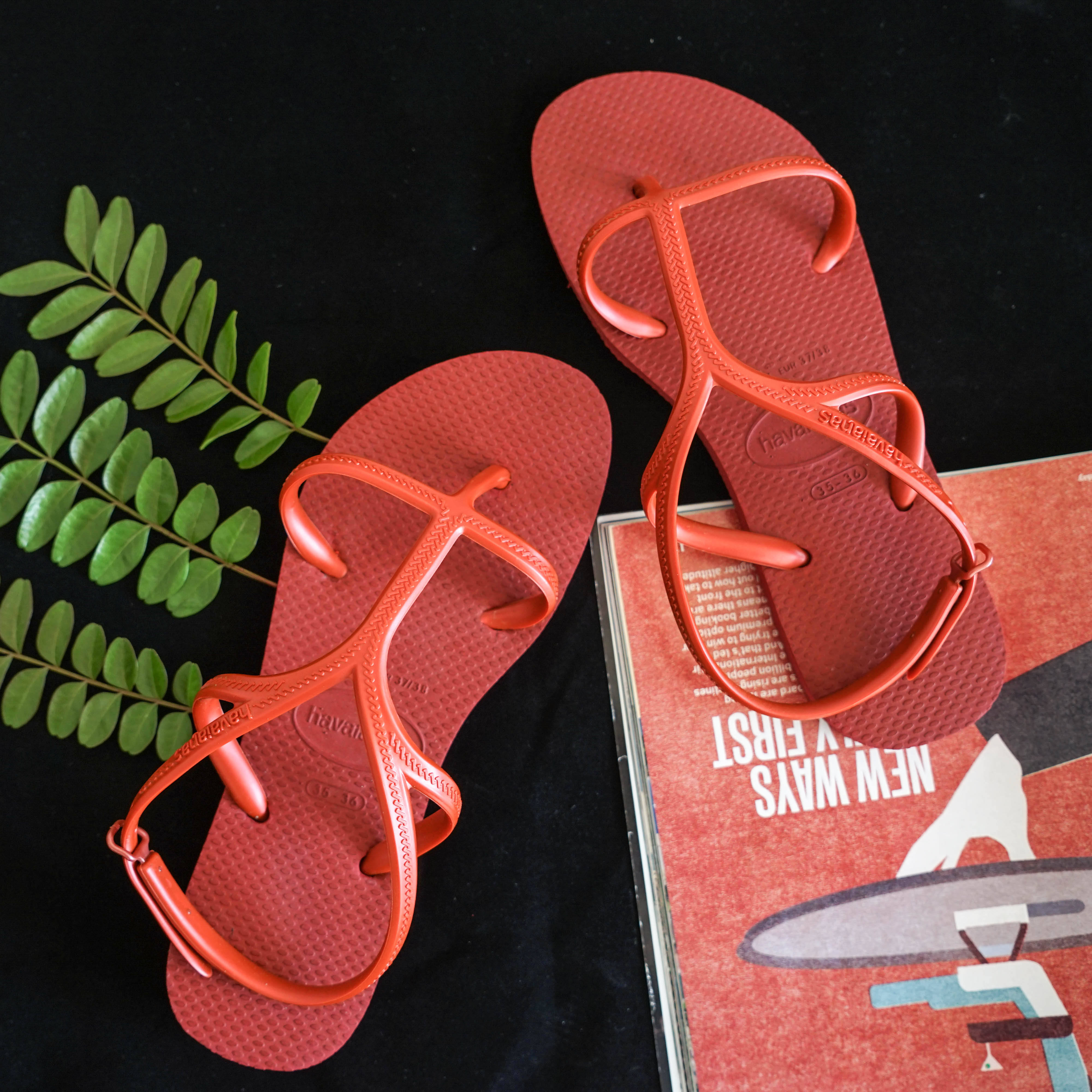 f4a6d3e26 2018 Havana women havaianas Allure flip-flops sandals herringbone lace-up  personality Rome straps · Zoom · lightbox moreview · lightbox moreview ...
