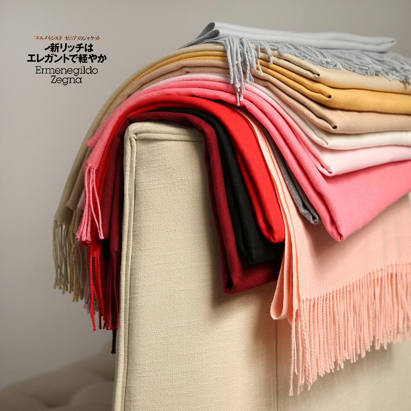 韩版秋冬季加厚长款仿羊绒围巾