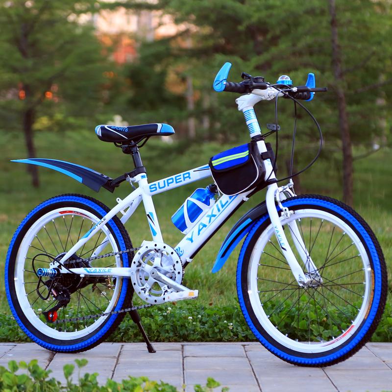 山地单车变速自行车20寸22寸24寸男女儿童8-11-12-14-18岁学生车