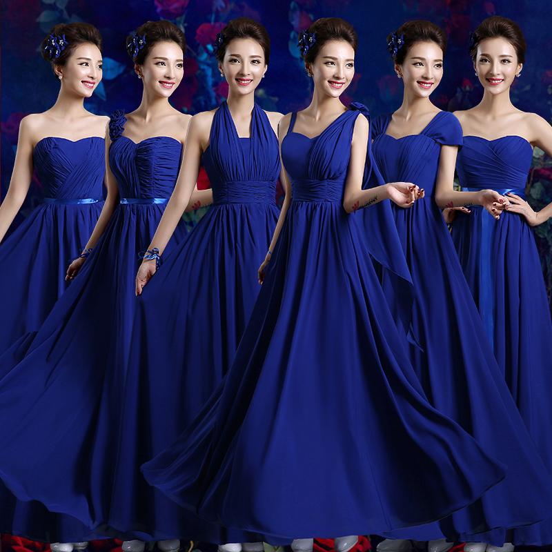 Синие Платья 2021