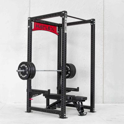 Hatlex Business Frame Power Rack HD2 Frame Deep Square Rack Mount Gym Private Teaching
