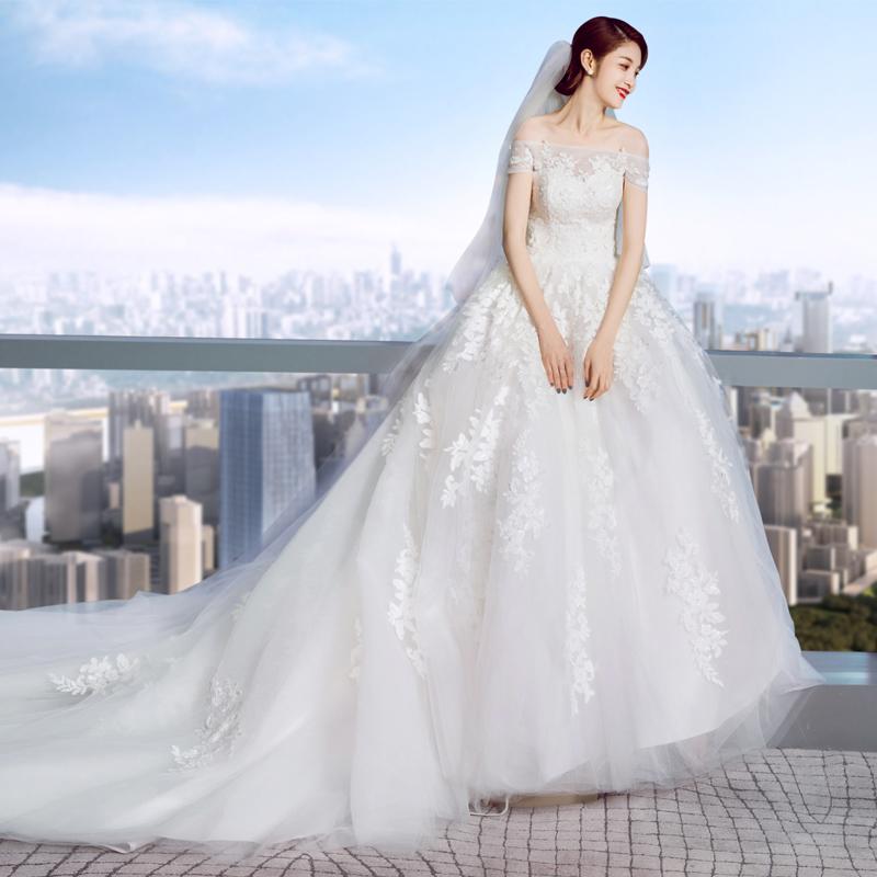 Свадебное платье Gcu 2018