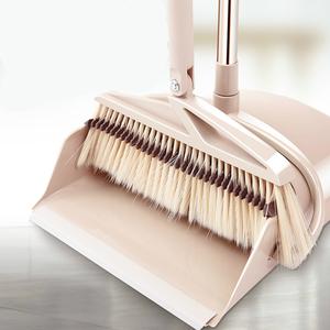 【尚朴】可旋转软毛魔术扫把簸箕组合