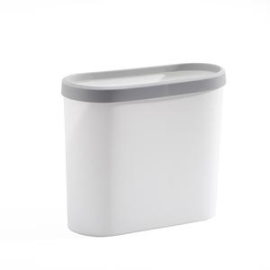 垃圾桶家用卫生间垃圾筒客厅卧室厕所夹缝窄道按压式有盖厕纸篓