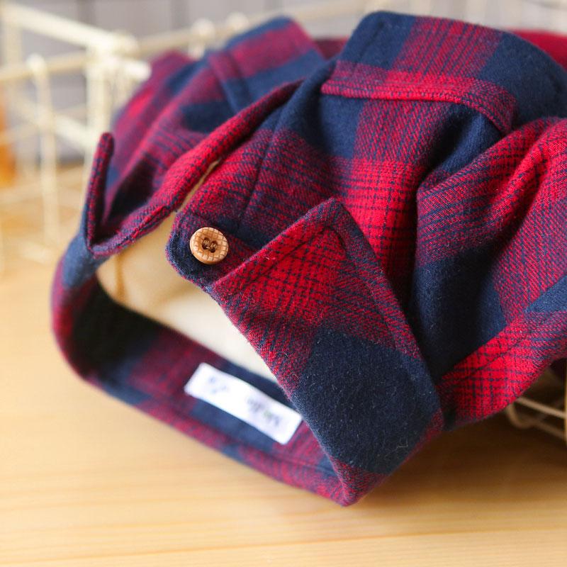 男童加绒衬衫2018秋冬装中小儿童宝宝加绒加厚纯棉长袖格子衬衣潮