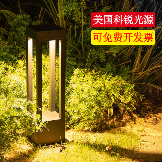 Solar Outdoor Simple Modern Waterproof Lights Garden Villa Garden Grassland Landscape Landscape Lights