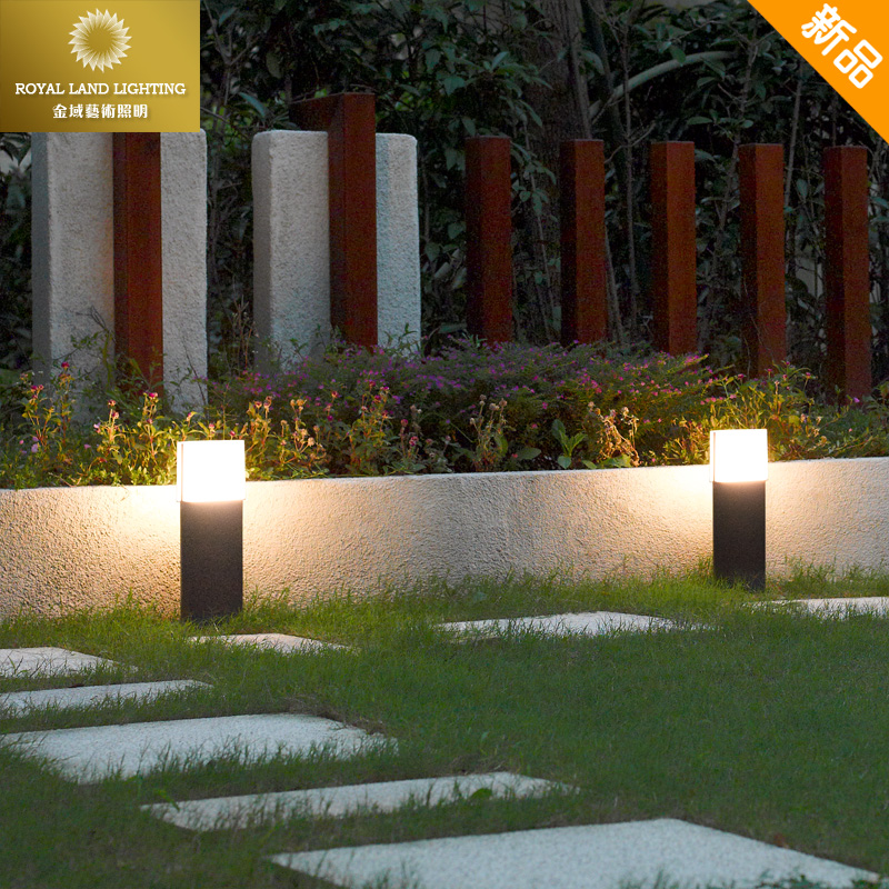 Modern Minimalist Home LED Lawn Light Outdoor Waterproof Villa Garden Light  Outdoor Park Garden Light PATH
