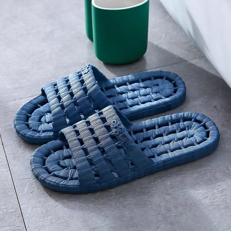 家用凉拖鞋女浴室夏季防滑室内洗澡情侣居家居男塑料软底四季夏天