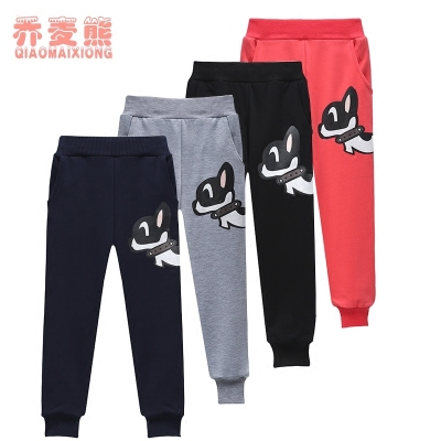 10 boys pants spring section 2017 new 6 children's sports pants spring and autumn thin section 7 boys trousers casual pants 8 years old 9