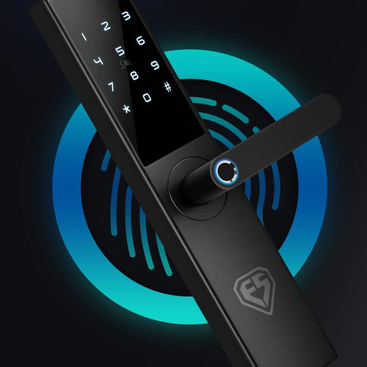 因硕智能指纹锁通用型密码锁电子
