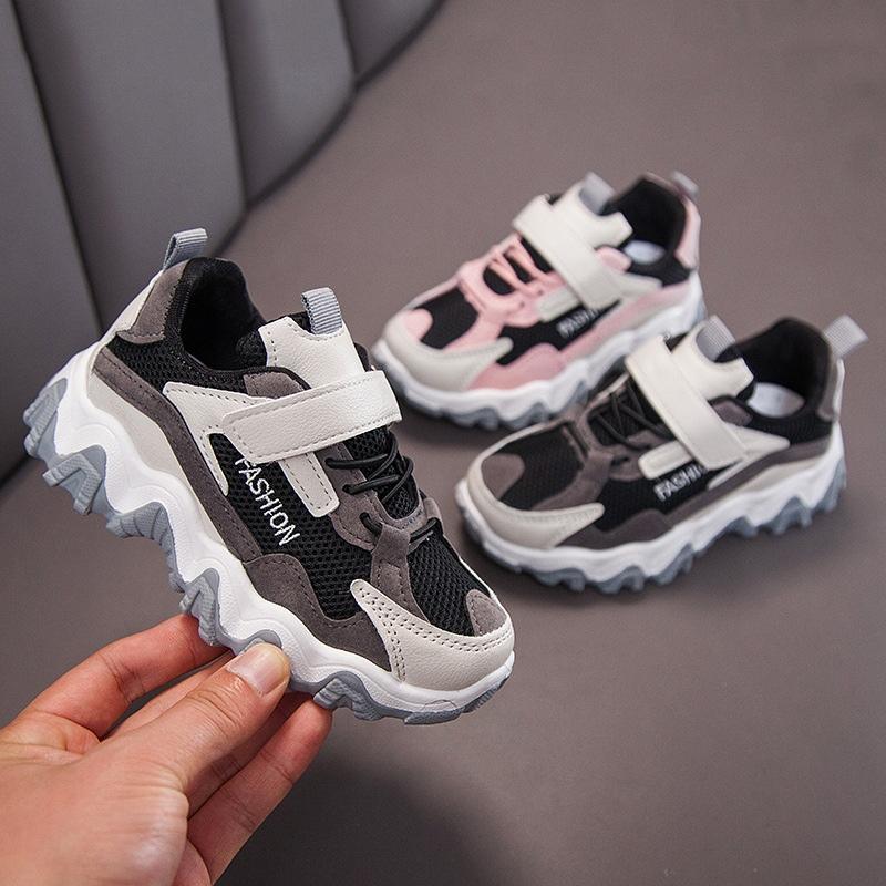 2020秋季新款女童鞋儿童老爹鞋网红男童运动鞋子中大童时尚潮鞋