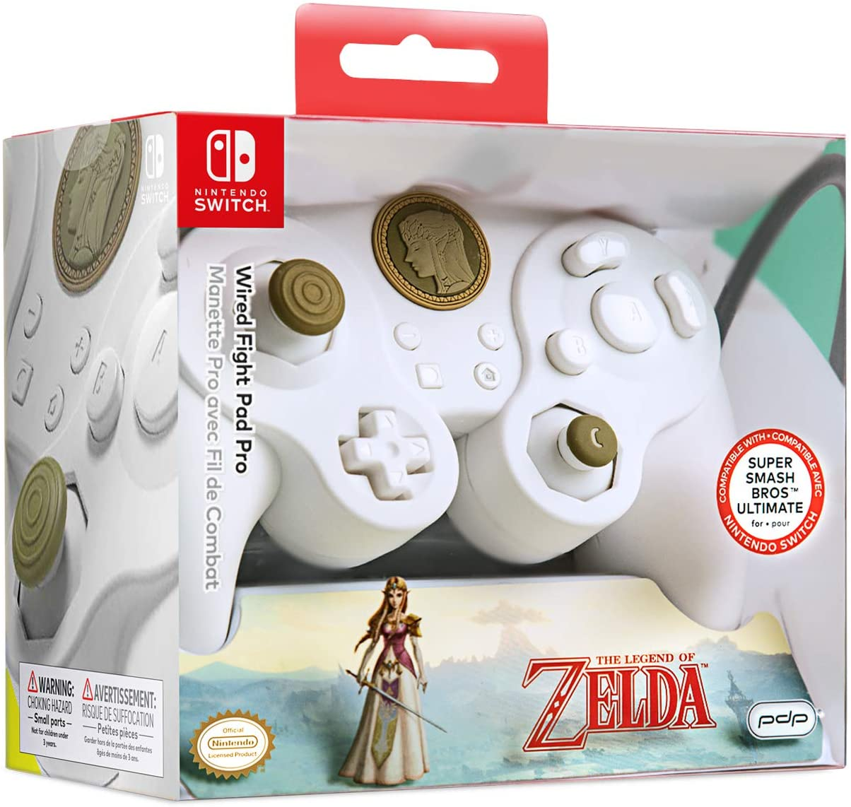 遊戲手柄任天堂 Nintendo Switch 有線游戲手柄PDP