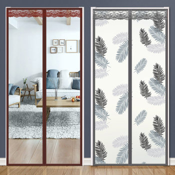 Air conditioning warm winter wind transparent curtain kitchen magnet self-priming winter wind household panel curtain anti-air-conditioning