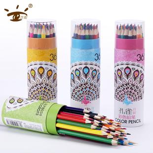 慧眼多色儿童彩色铅笔桶装幼儿园画画