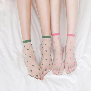 【陌树】网纱可爱短玻璃丝袜