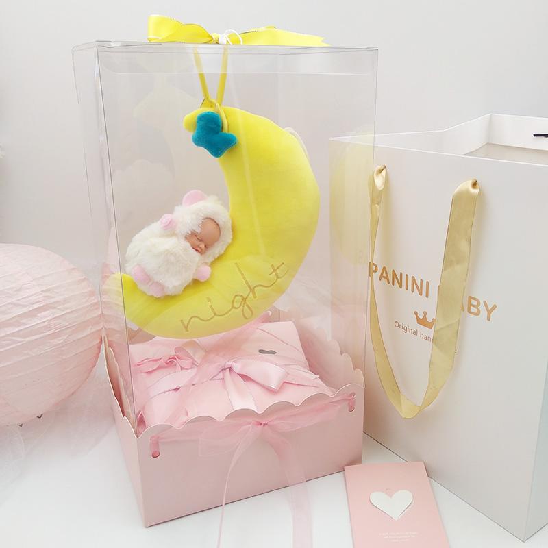 Hộp quà cho trẻ sơ sinh Bộ quần áo cotton sơ sinh dành cho nam và nữ Em bé sơ sinh Full Moon Quà tặng Baitili Quà tặng sơ sinh - Bộ quà tặng em bé
