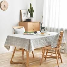 北欧ins风餐桌垫防水免洗长方形茶几桌布