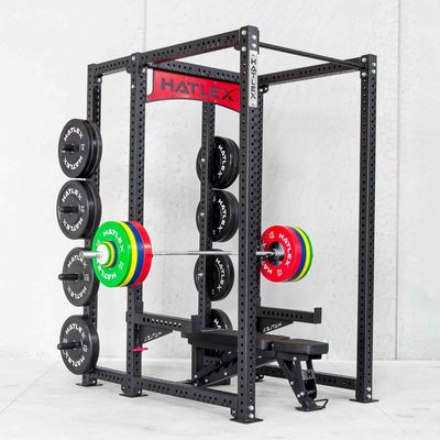 Hatlex Business Frame Ring Mount Safety Deep Squatting Push Composite Bracket Power Rack HD3