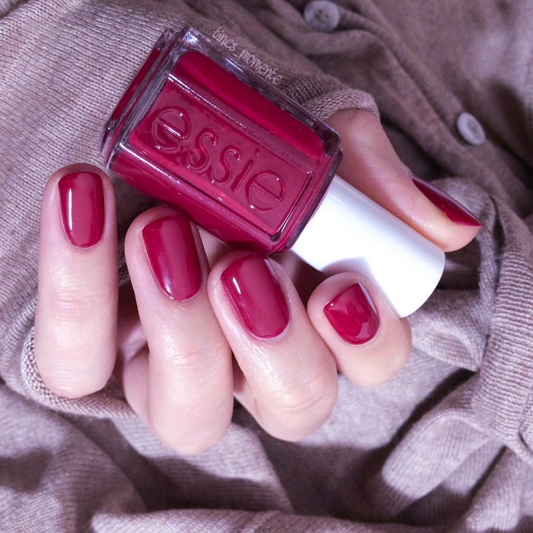 USD 8.85] American ESSIE nail polish Size Matters charm deep rose ...