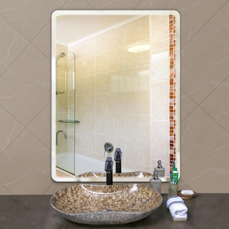 玉晶 防爆浴室镜子 直角款30*40cm 天猫优惠券折后¥6.9包邮(¥9.9-3)送安装工具