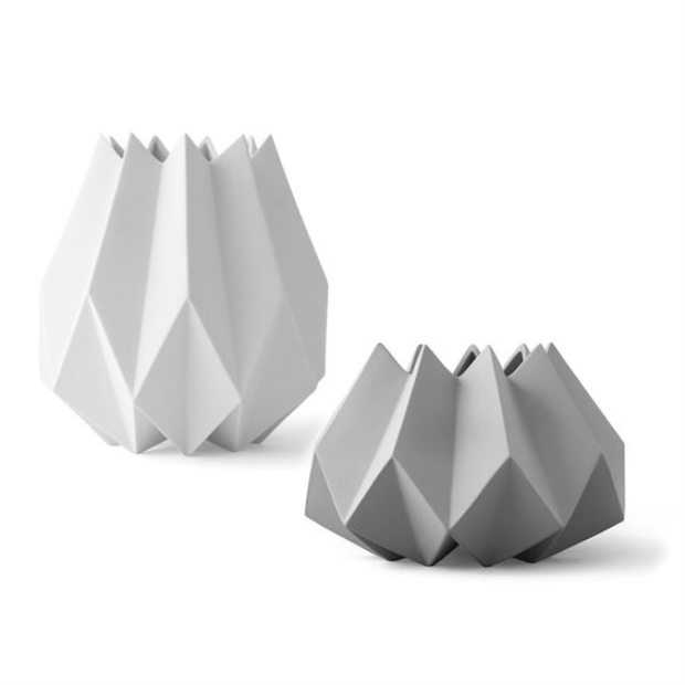 Usd 2335 Tgnordic Danish Design Style Ceramic Origami Vase Flower