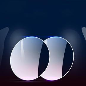 【倒车神器】360度高清防水后视镜小圆镜